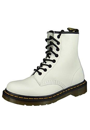 Dr. Martens Unisex-Erwachsene Bootsschuhe, Weiß (1460 Smooth 59 Last White), 39 EU