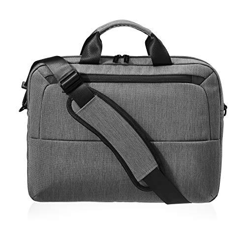 Amazon Basics - Professionelle Laptop-Tasche, für Laptops bis 39,62 cm - grau
