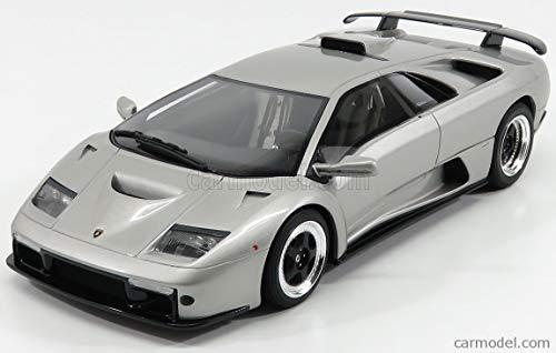 Lamborghini Diablo GT, Silber, 0, Modellauto, Fertigmodell, GT Spirit 1:18