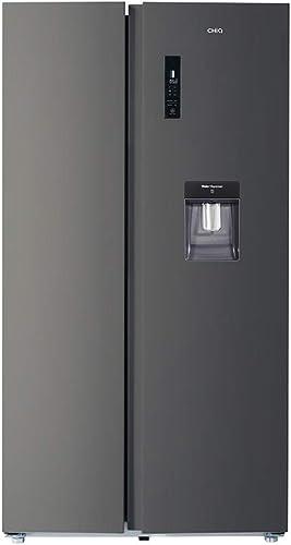 CHiQ FSS559NEI42D réfrigérateur congélateur american, 559L, compresseur inverseur, froid ventilé, total no frost, noi...