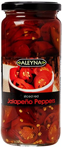 Aleyna Red Jalapenos 480 g (Pack of 6)