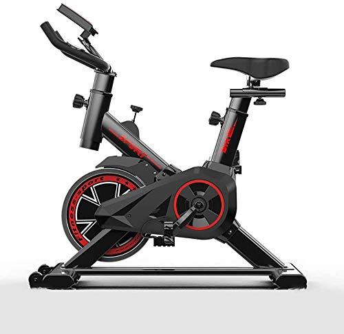 Bicicleta de Ejercicio Bicicleta de Ejercicio de Interior Bicicleta de Ejercicio Profesional Ajustable con Pantalla LCD Equipo de Entrenamiento de Entrenamiento Cojín cómodo Cojín de Asiento p