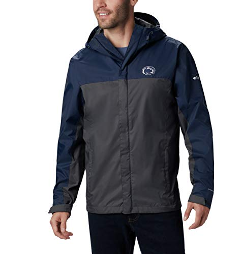 NCAA Penn State Nittany Lions Men's Collegiate Men's Glennaker Storm Jacket, Medium, PSU - Collegiate Navy/Dark Grey