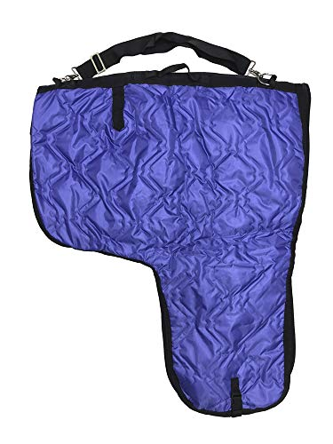 AJ Tack Wholesale Western Horse Saddle Carrier Cover Storage Travel Bag Padded Quilted Purple