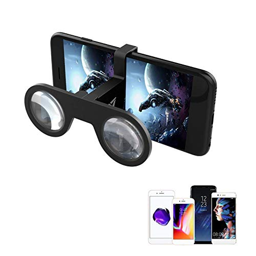 Allwin Vr-Brille, Tragbare 3D-VR-Brille (Virtual Reality), Augenpflegesystem Für iPhone Und Android-Smartphones (Großer Wertverkauf)!