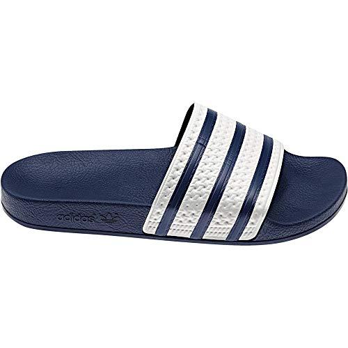 adidas Adilette, Chanclas Unisex, Azul (Adiblue/White/Adiblue), 37 (4UK)