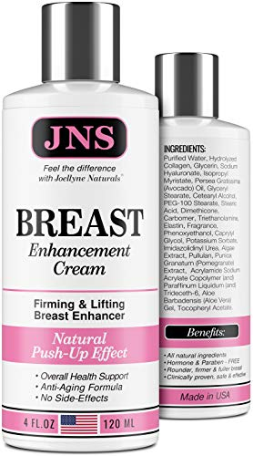 Breast Enhancement Cream - Powerful Lifting & Plumping Formula for Breast Growth & Enlargement -...