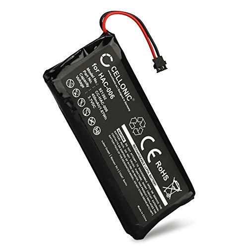 CELLONIC® Qualitäts Akku kompatibel mit Nintendo Switch Joy-Con L/R (450mAh) HAC-006 Ersatzakku Batterie
