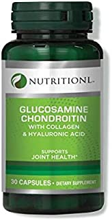 Nutritionl Glucosamine Chondroitin With Collagen & Hyaluronic Acid 30 Capsules