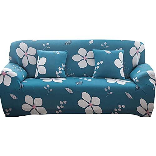 Funda de sofá elástica Fundas de sofá impresas Fundas de sofá para 1-3 sofás Cojines Protector universal elástico para muebles con 1 funda de almohada gratis,medium