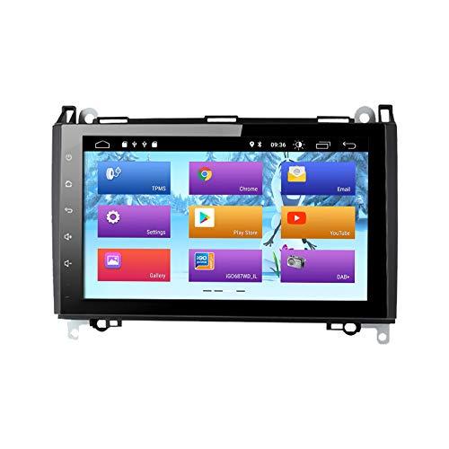 ZLTOOPAI Android 10.0 Autoradio für Mercedes-Benz W169 A150/A160/A170/A180/A200 W245 B160/B170/B180/B200 W639 Vito/Viano W906 Sprinter 2500/3000 VW Crafter 2006 Ab jetzt mit DSP 9 Zoll IPS GPS WiFi