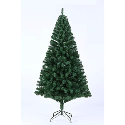 SVITA künstlicher Weihnachtsbaum Tannenbaum Deko Christbaum Kunstbaum PVC 180 cm