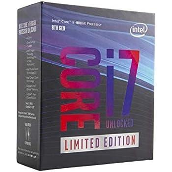 Core i7-8086K 4GHz 12MB Smart Cache Caja procesador: Intel: Amazon ...