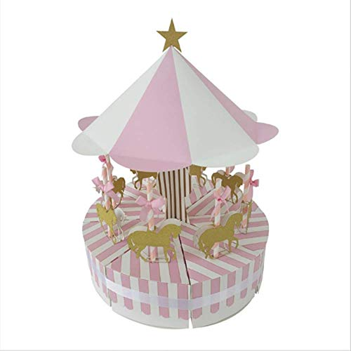 Boîte À Musique Boîtes À Bonbons Coffret À Bonbons Boîte À Gâteaux Style Europe Carrousel, Home Decor Carrousel Cheval Noël Mariage Cadeau D'Anniversaire Fournitures