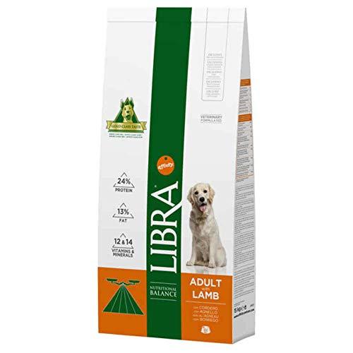 LIBRA Affinity Canine Adult Cordero 15Kg 15000 g ⭐