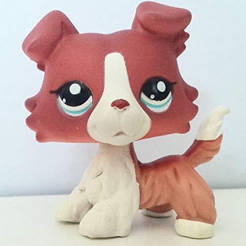 MKDLB Lps Pet Shop Toys,Shorthair Pink Cat Shepherd Dachshund Great Dane Toys Gifts