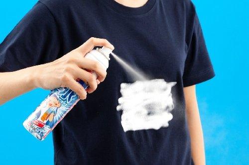 桐灰熱中対策『タオルに氷をつくるスプレー』