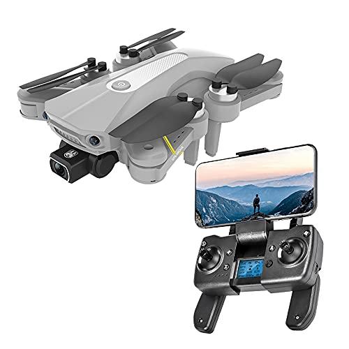 Pieghevole GPS FPV Drone con 4K UHD Macchina Fotografica di Video Dal Vivo per I Principianti Adulti Wifi RC Quadcopter con Motore Brushless GPS Ritorno A Casa Mi Segua Cerchio