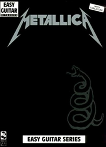 Metallica Black Book Easy Guitar With Riffs: Noten für Gitarre (Play It Like It Is)