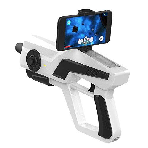 LWPCP AR Gamepad Intelligente Pistola per Giochi somatosensoriali, Controller per Videogiochi a 360 Gradi, Controller di Gioco Wireless per cellulari Bluetooth per iOS e Android