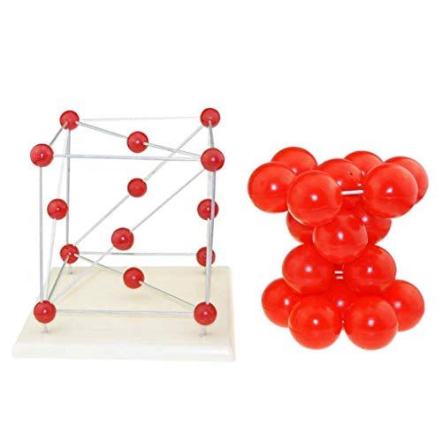 LIBAI Conjunto de Modelo Molecular,Modelo de Estructura de Cristal de Metal Modelo Molecular quimico Instrumento de Ciencia y educacion para escuelas Herramientas educativas Ayuda para capacitacion