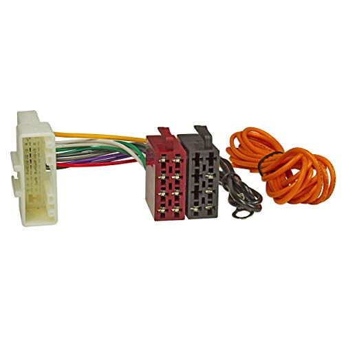 tomzz Audio 7054-001 Radio Adapter Kabel passend für Subaru ab 2007 Justy Legacy Impreza, Forester auf 16pol ISO Norm