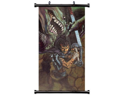 """Berserk Anime Fabric Wall Scroll Poster (31"""" x 63"""") Inches"""