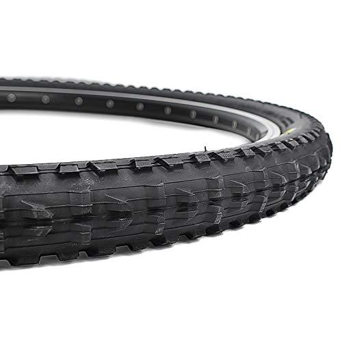 HAIHAOYF Neumático de la Bicicleta, 65 PSI BTT Bicicleta de montaña Neumáticos Pneu (Color : 1PC 26x2.1)