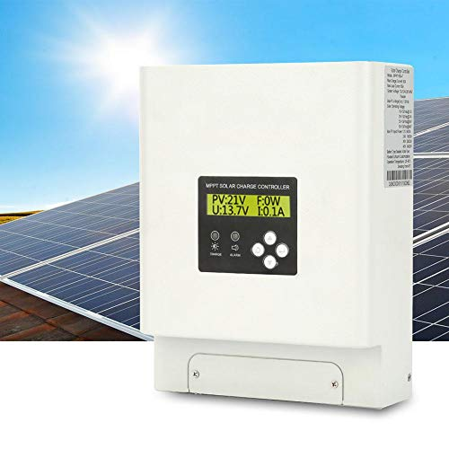 Wandisy solar charge controller, 60A MPPT solar charge controller 48/36/24 / 12V Automatische identificatie Max 150VDC
