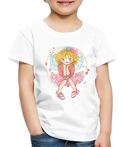 Prinzessin Lillifee und Ihr Wunsch Kinder Premium T-Shirt, 122-128, Weiß