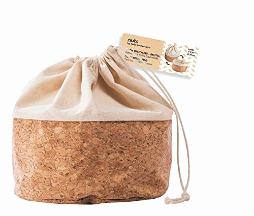 Nuts Brotsack-Frücktekorb L mit Kordel