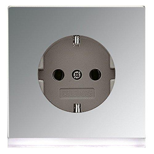 Jung GCR2520-OLEDW Schuko-stopcontact met LED-oriëntatielicht
