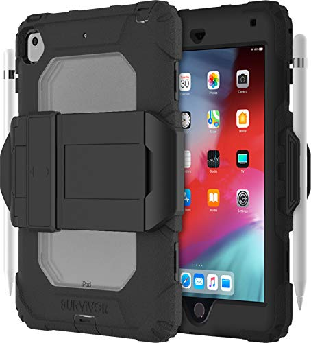Griffin Technology Survivor All-Terrain iPad Mini 5 2019 Negro/Transparente con Stand