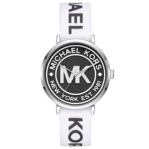 Michael Kors Women's Addyson Three-Hand Silver-Tone Alloy Watch MK2863