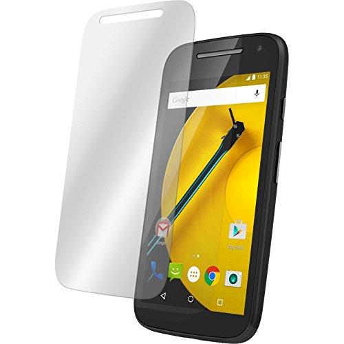 PhoneNatic 3 x Glas-Folie klar kompatibel mit Motorola Moto E 2015 2. Generation - Panzerglas für Moto E 2015 2. Generation