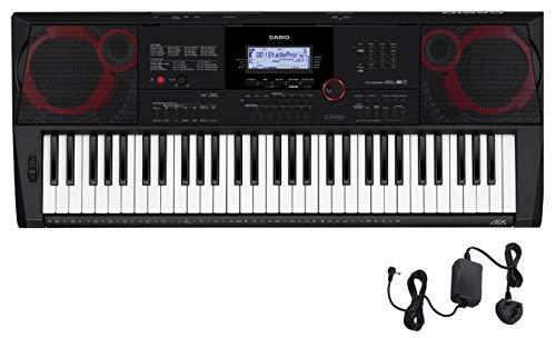 Casio CT-X3000 Top Keyboard mit 61 anschlagdynamischen Standardtasten und Begleitautomatik