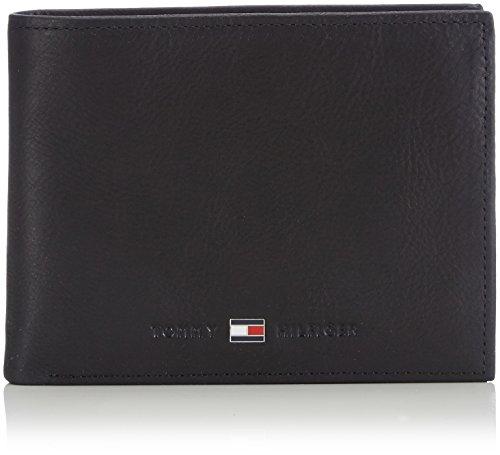 Tommy Hilfiger Herren Johnson CC and Coin Pocket Mappe, Schwarz (Black 002), 14x10x2 cm (B x H x T)
