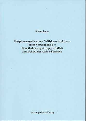 Festphasensynthese von N-Glykan-Strukturen unter Verwendung der Dimethylmaleoyl-Gruppe (DMM) zum Schutz der Amino-Funktion