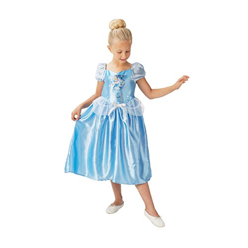 Rubie's- Costume per Bambini Cenerentola Classic, S, Azzurro, S, IT620640-S