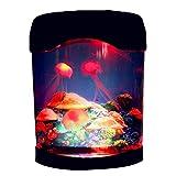 RDJSHOP - Lampada portatile per acquario, con luci a forma di medusa, con luce USB per acquario e acquario con luce per la decorazione della casa
