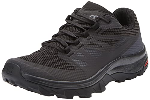 Salomon Outline Gore-Tex (impermeable) Mujer Zapatos de trekking, Negro (Phantom/Black/Magnet), 40 2/3 EU