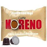 CAFFE' MORENO 50 CAPSULE MISCELA ESPRESSO BAR COMPATIBILITA' NESPRESSO