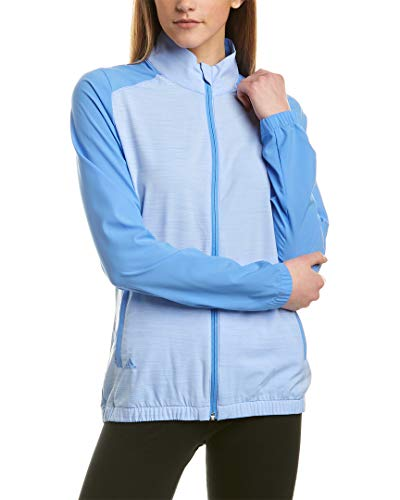 adidas Essentials Full Zip Wind Jacket Chaqueta, Azul Real, Large para Mujer