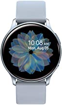 Samsung Galaxy Watch Active 2 (40mm, GPS, Bluetooth) Smart Watch with Advanced Health Monitoring, Fitness Tracking , and Long Lasting Battery - Silver (US Version)