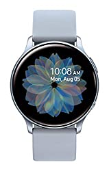 Image of Samsung Galaxy Watch Active 2 (40mm, GPS, Bluetooth) Smart Watch with Advanced Health Monitoring, Fitness Tracking , and Long Lasting Battery - Silver (US Version): Bestviewsreviews