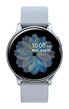 SAMSUNG Galaxy Watch Active 2  44mm GPS Bluetooth  Smart Watch with Advanced Health Monitoring Fitness Tracking and Long lasting Battery Silver  US Version