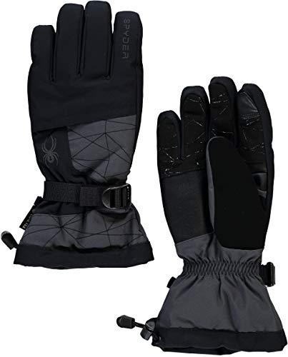 Spyder Active Sports Herren Overweb Gore-Tex Skihandschuhe, Ebenholz, Größe L