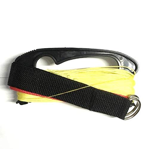 ZFHGT 3a0m Strong Fiber Lines for Dual line Parafoil and Stunt Kites with Two Straps,2pcs