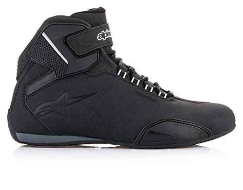 Alpinestars 254451910-45 NC Chaussures Moto Homme, Noir, 45 EU