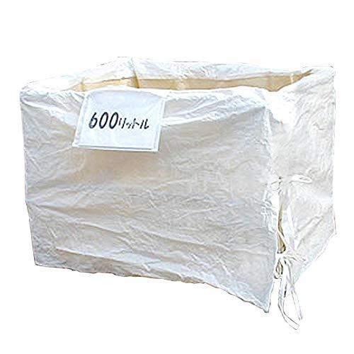 リレーバッグ RB60S2B-DUL-BOX (2袋入) メッシュパレット 網カゴ パレティーナ フレコン 1000×800×800 廃棄物回収 製品運搬 内張り 荷こぼれ防止 耐荷重1000kg 600リットル 0.6立米 厚手生地使用